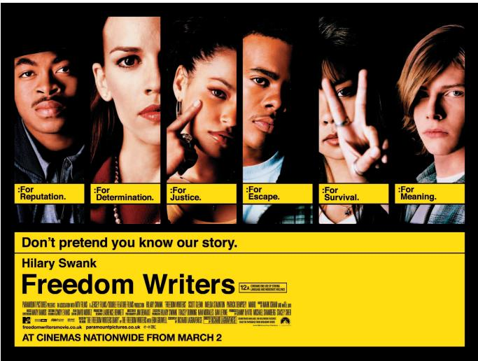 The freedom writers diary essay