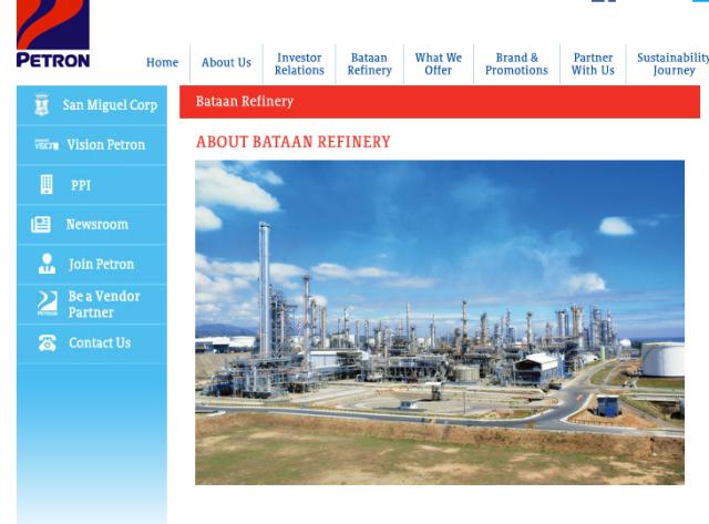 bataan refinery