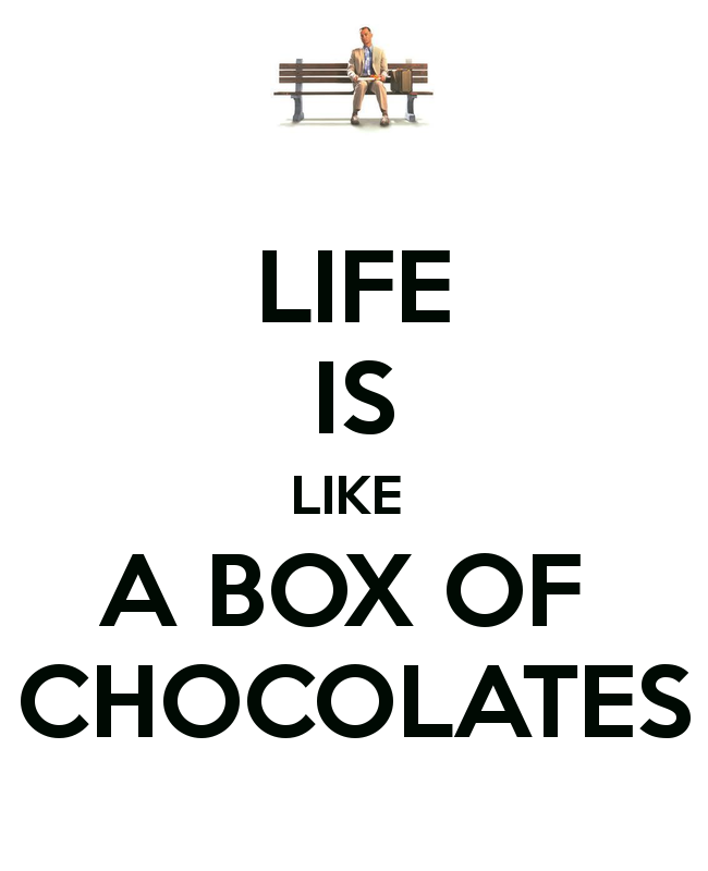 life is like a box of chocolate essay