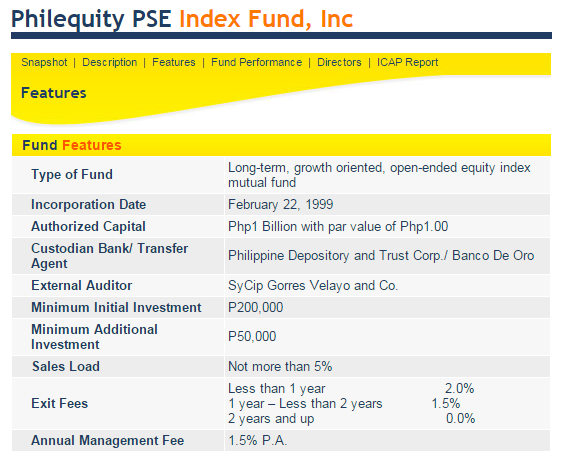 pse index
