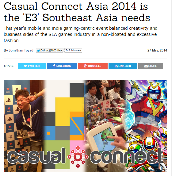 casual connect 2014